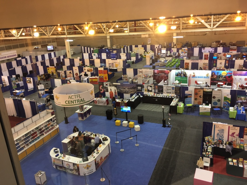 ACTFL2018 Exhibition Hall